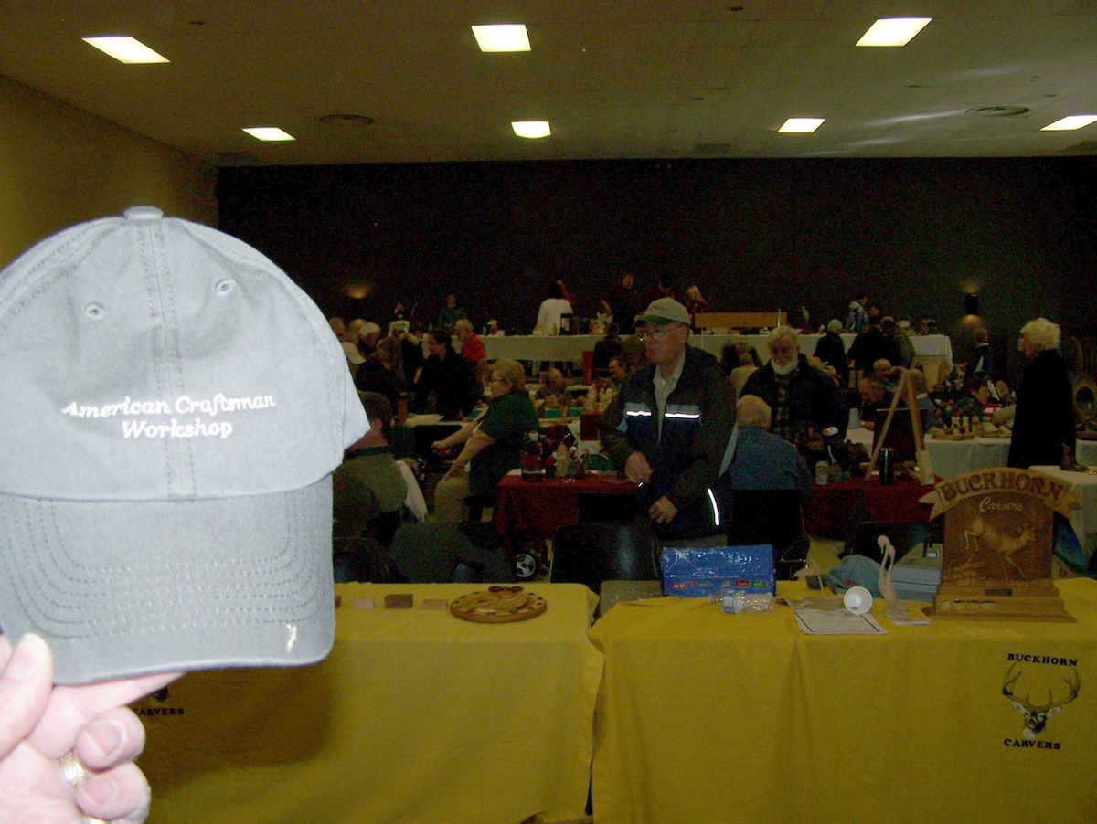 ACW Hat at Buckhorn Carvers Meeting Ontario, Canada