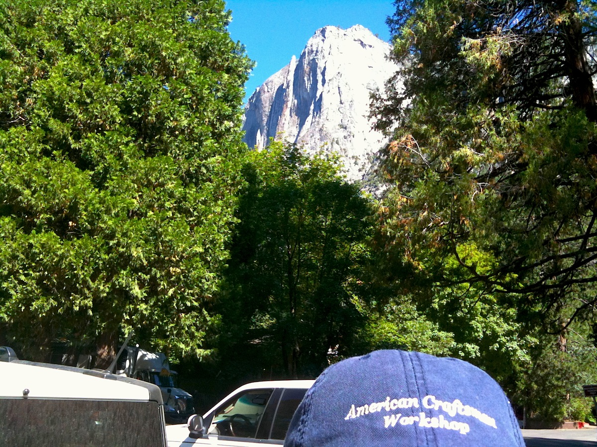ACW Hat Visits Yosemite National Park