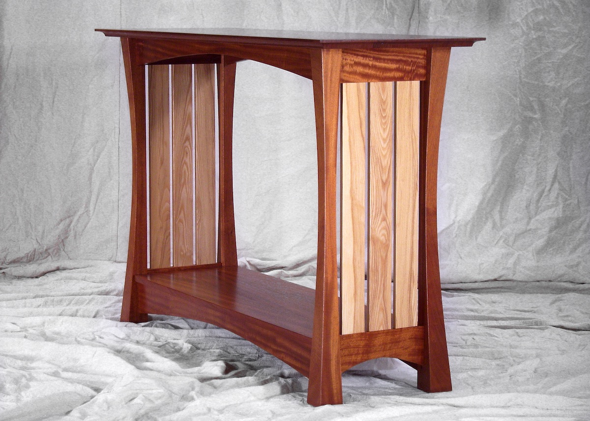 Fine Woodworking Table For Rita
