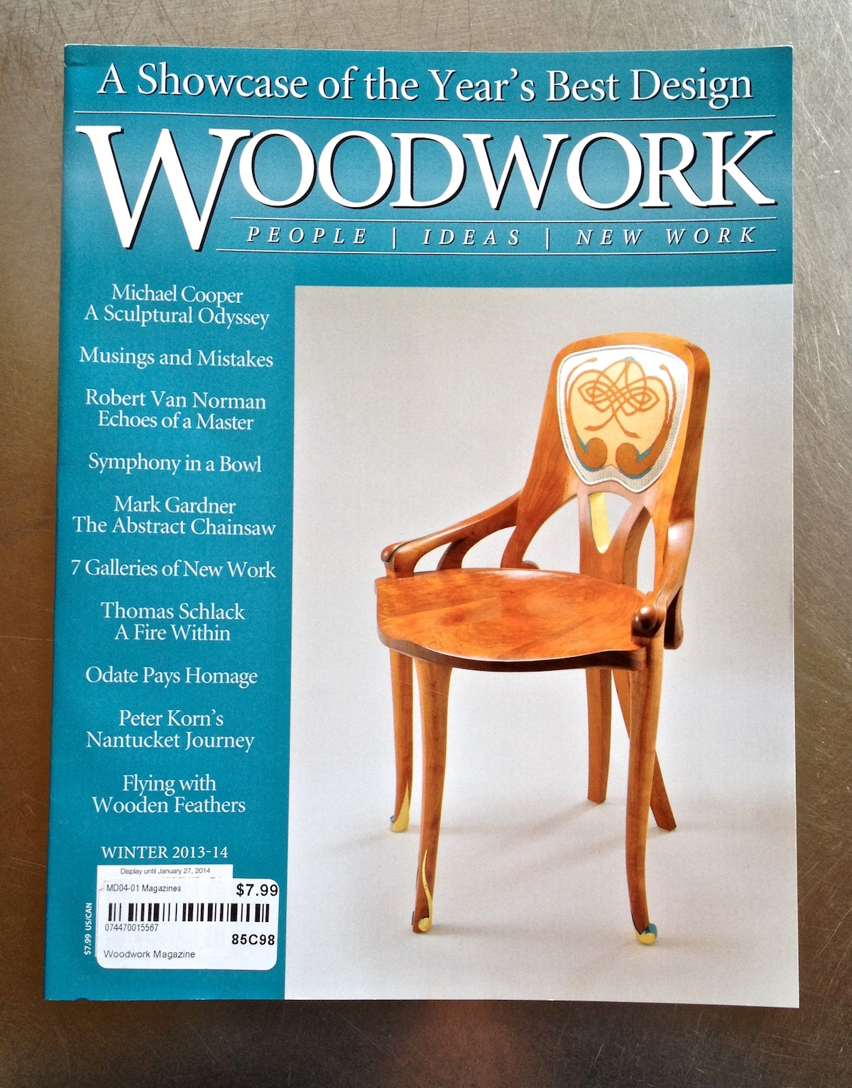 Woodwork Magazine Issue 120 Winter 2013-14