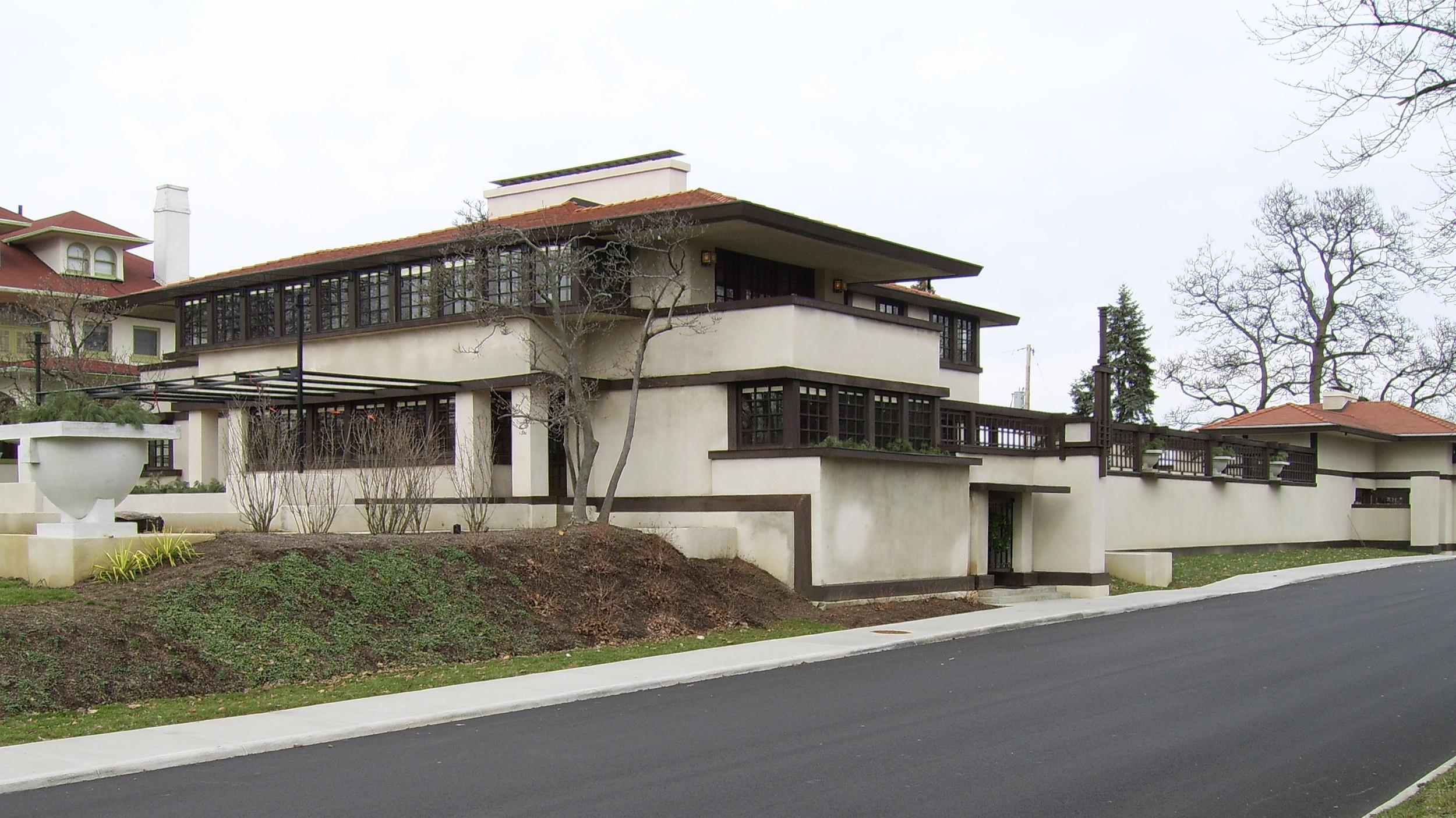 Frank Lloyd Wright - Westcott House, Springfield, Ohio