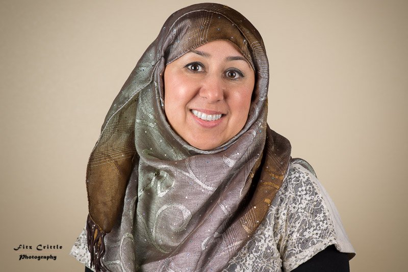 I was attending an event when I saw Mari. I told her I liked her head dress and asked if I could take her portrait. She said no at first, but I kept telling her great she looked and she agreed. Mari is originally from Afghanistan and is an event planner.