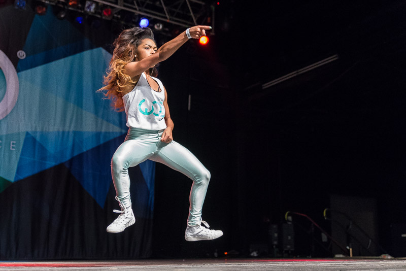 Kaelynn Harris - she recently danced for Usher at the 2014 BET Awards
