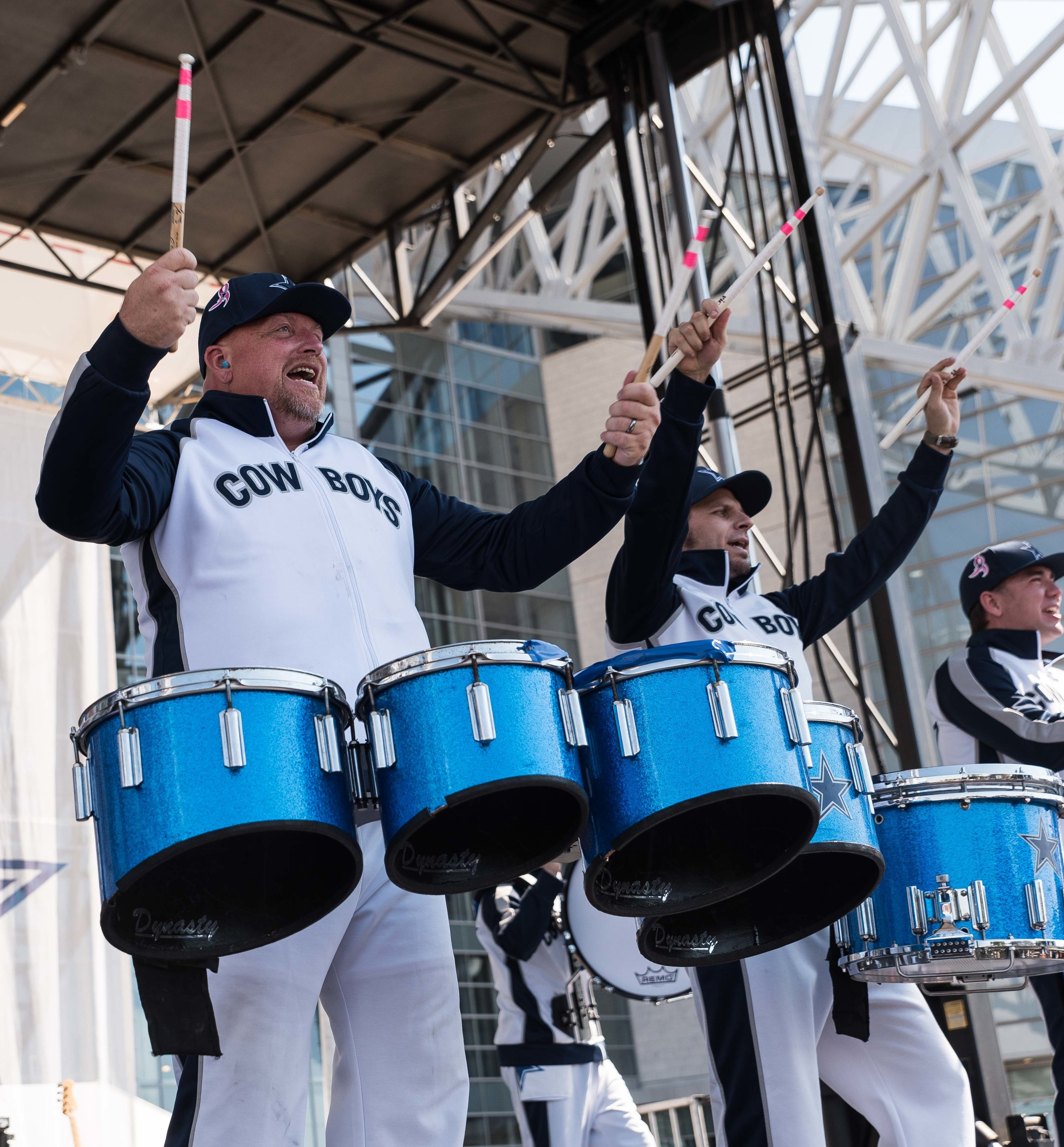 Dallas Cowboys Rhythm & Blue Drumline