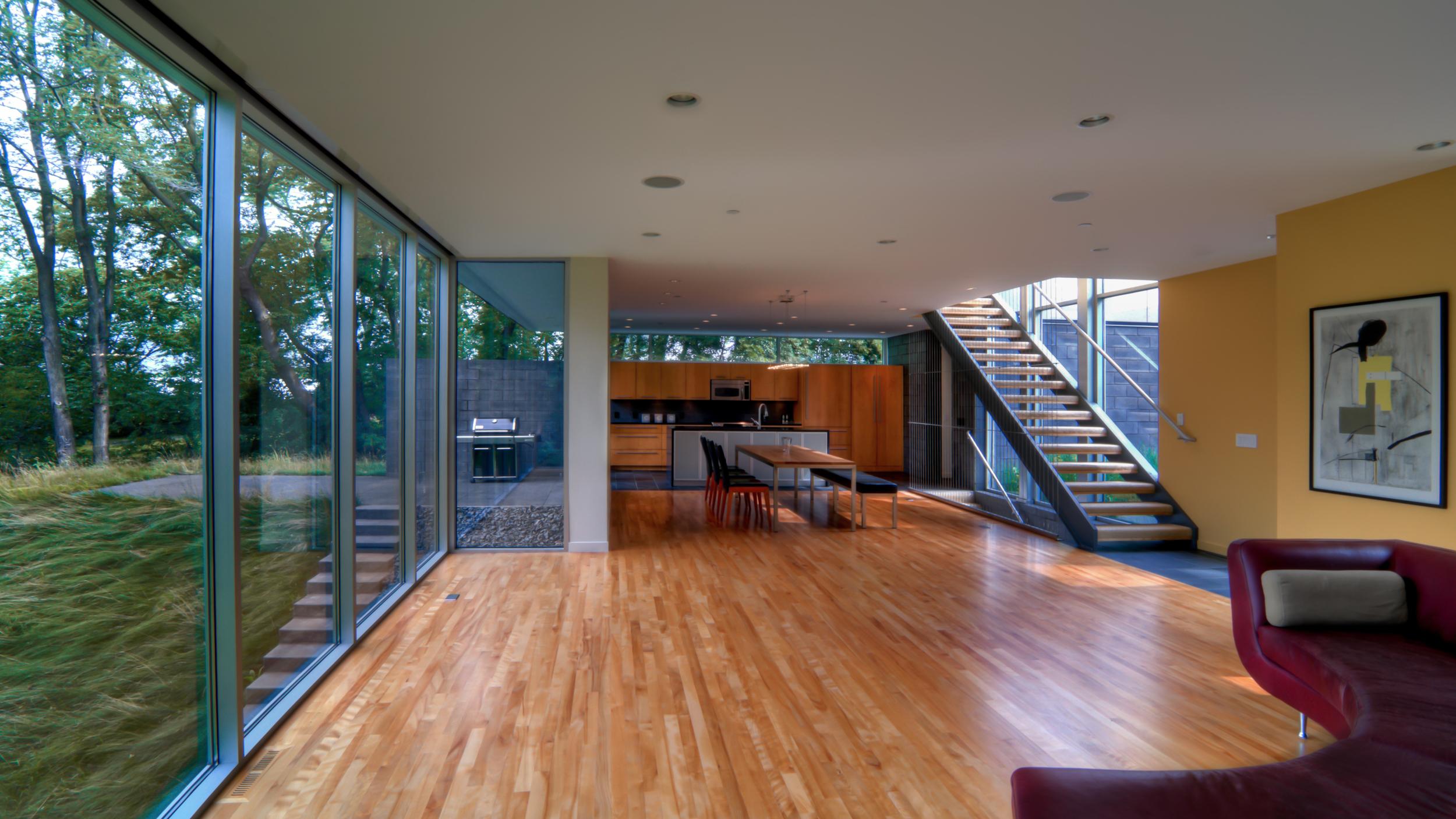 Altus Architecture +Design: Minnetonka Residence - Living Space