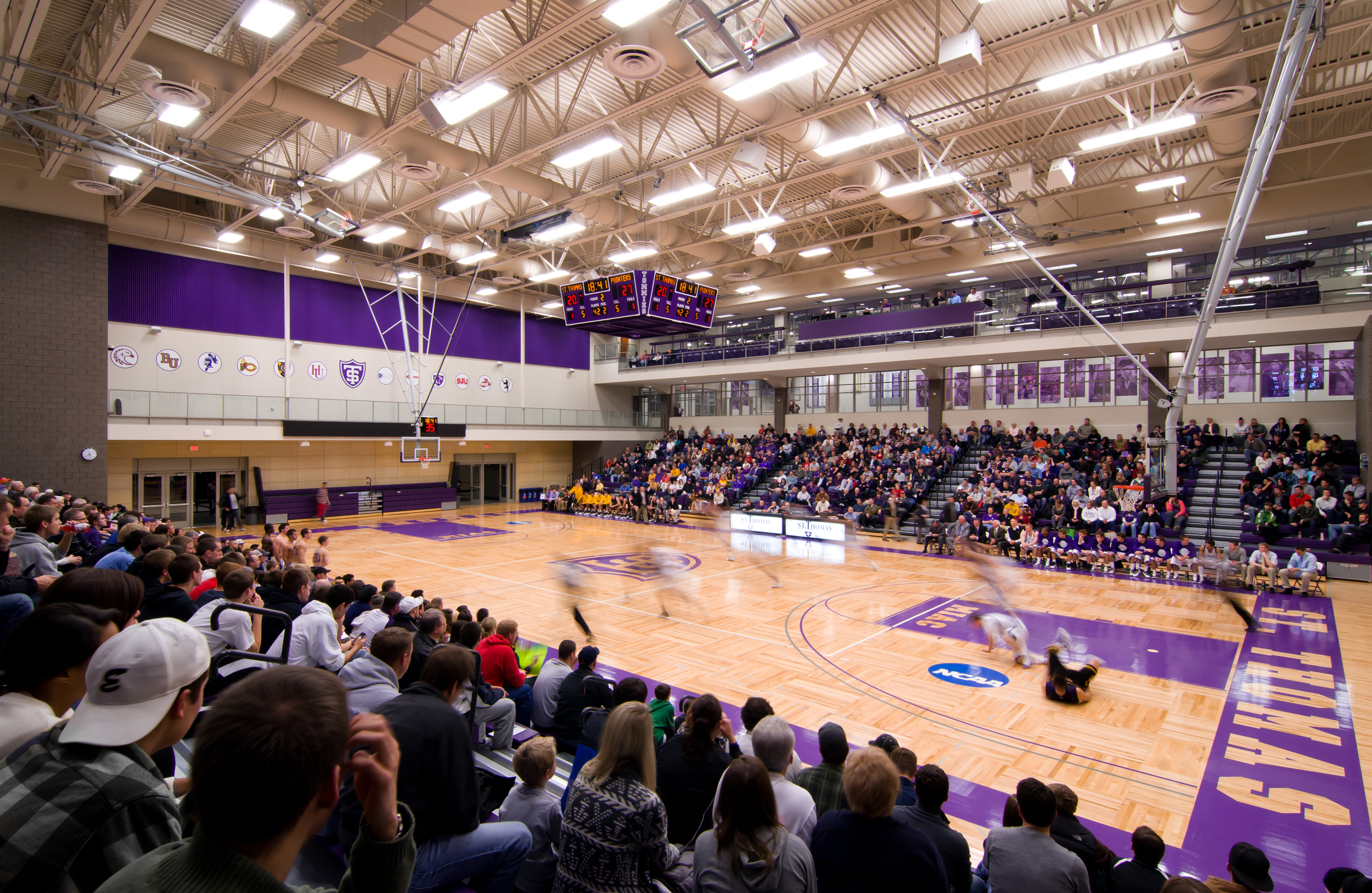 Anderson Athletic Center - Basketball Arena