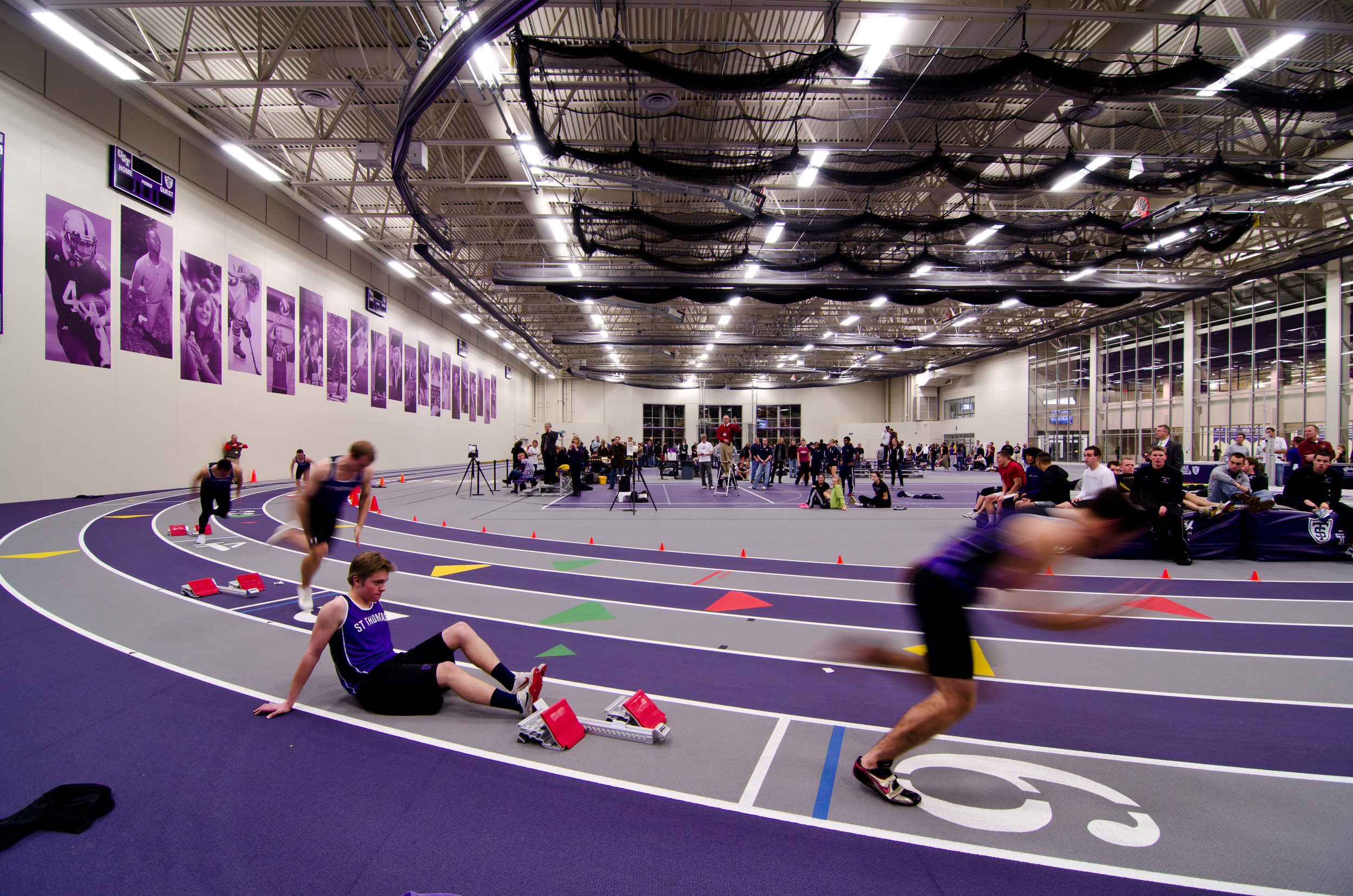 Anderson Athletic Center - Indoor Track