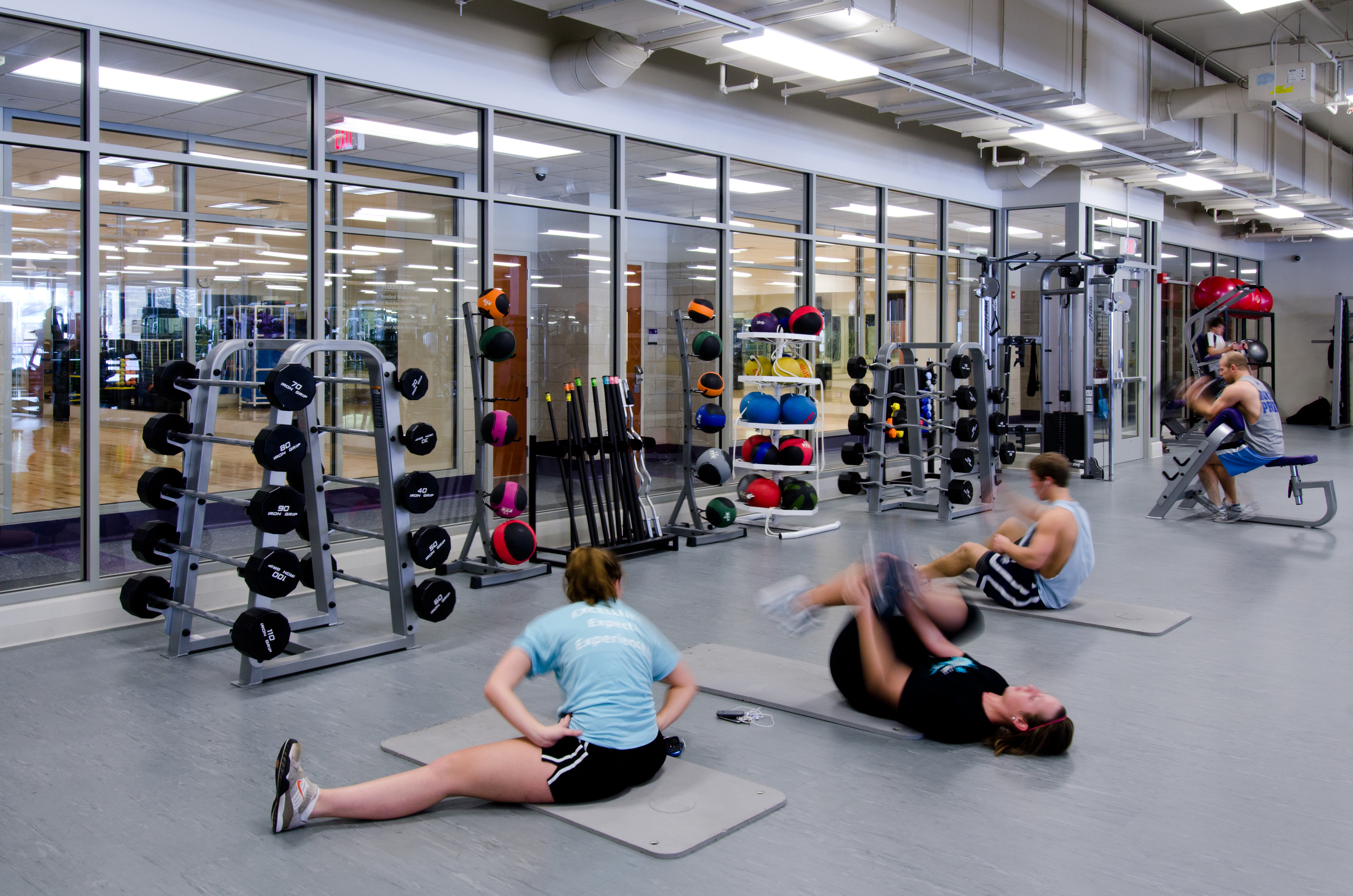 Anderson Athletic Center - Lifting Room