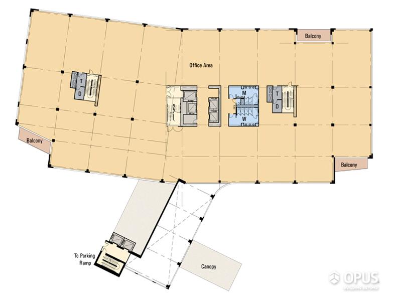 Floor Plan Level - 2