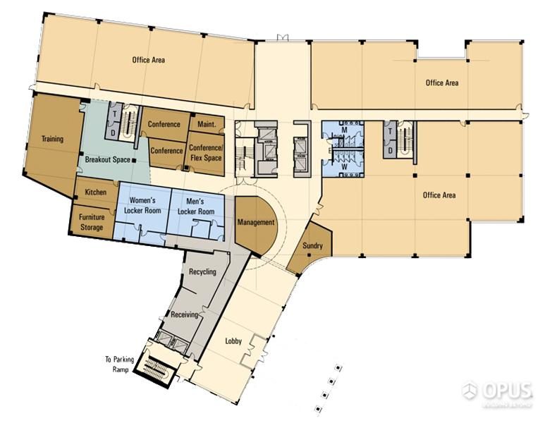 Floor Plan Level - 1