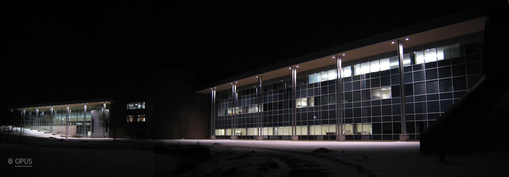 South Exterior at Night (full)