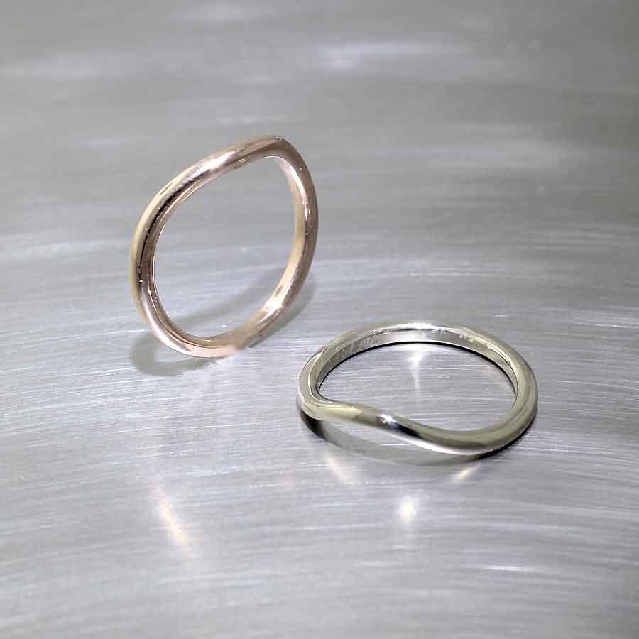 #21010138 (rose gold) & #21010139 (white gold)