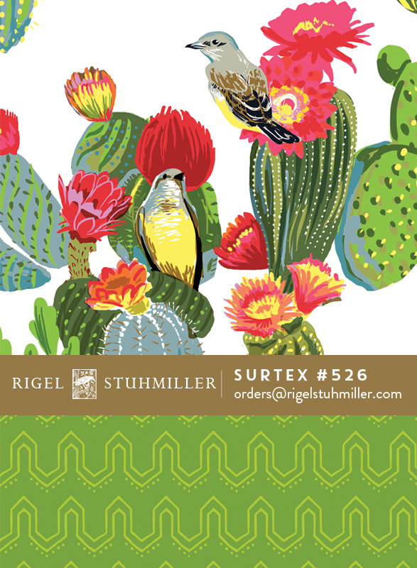 kingbirds and cactus