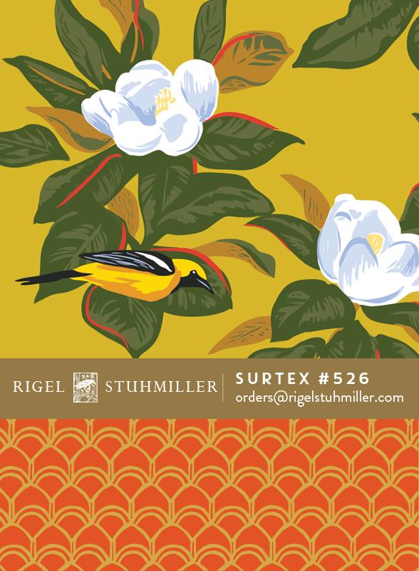 Oriole & Magnolias