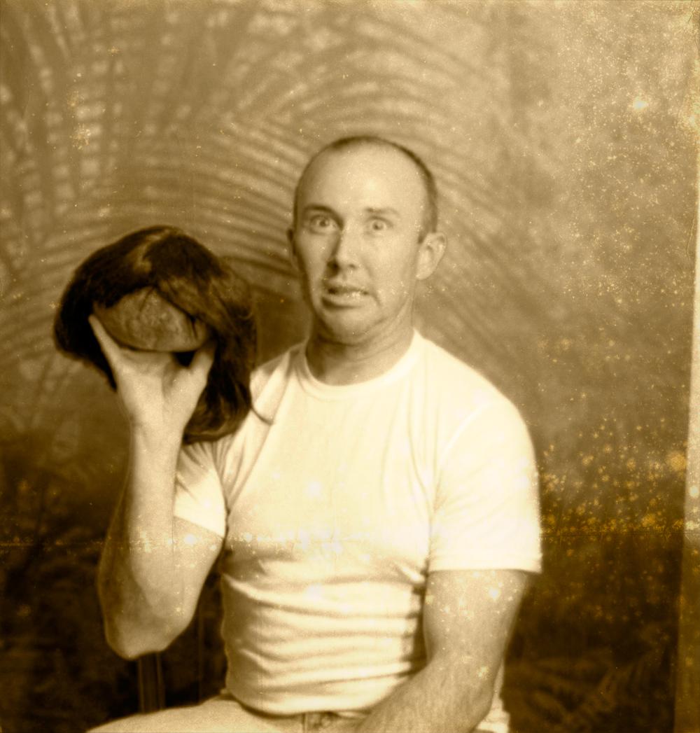 shotgun wedding of dr. winthrop livingston to shrunken head : gabon jungle, new guinea