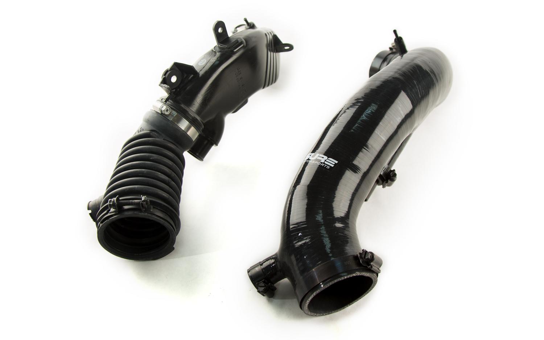 OEM turbo inlet pipe & intake hose v. Bigmouth