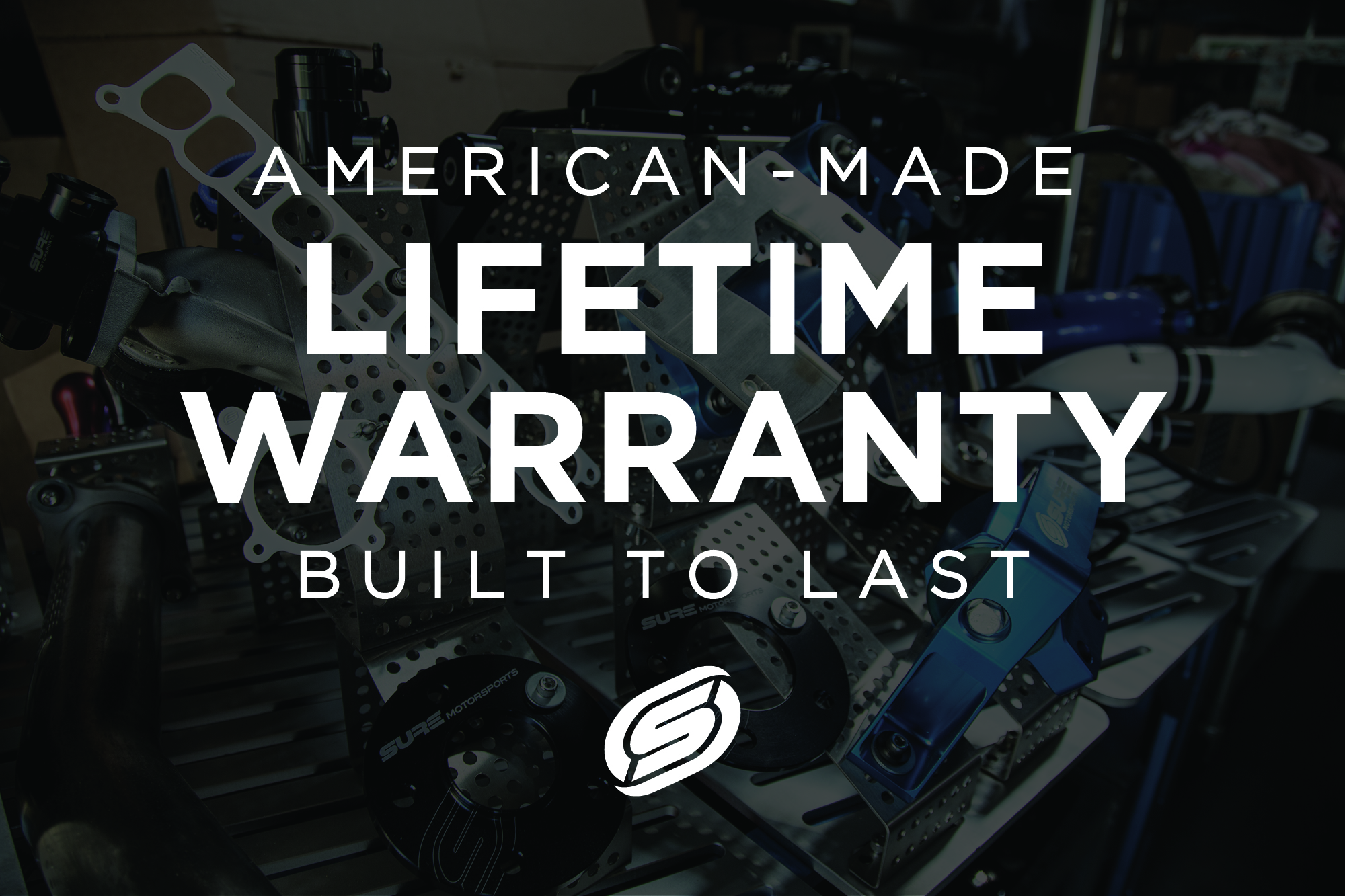 SURE Motorsports Lifetime Warranty   We are dedicated to designingproducts that are built to last a lifetime and enhance your Mazda experience. All of our products, including polyurethane components, are backed by our  Lifetime Warranty .