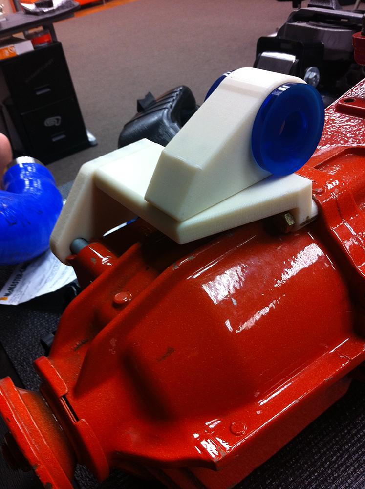 Juggernaught   3D printed prototype