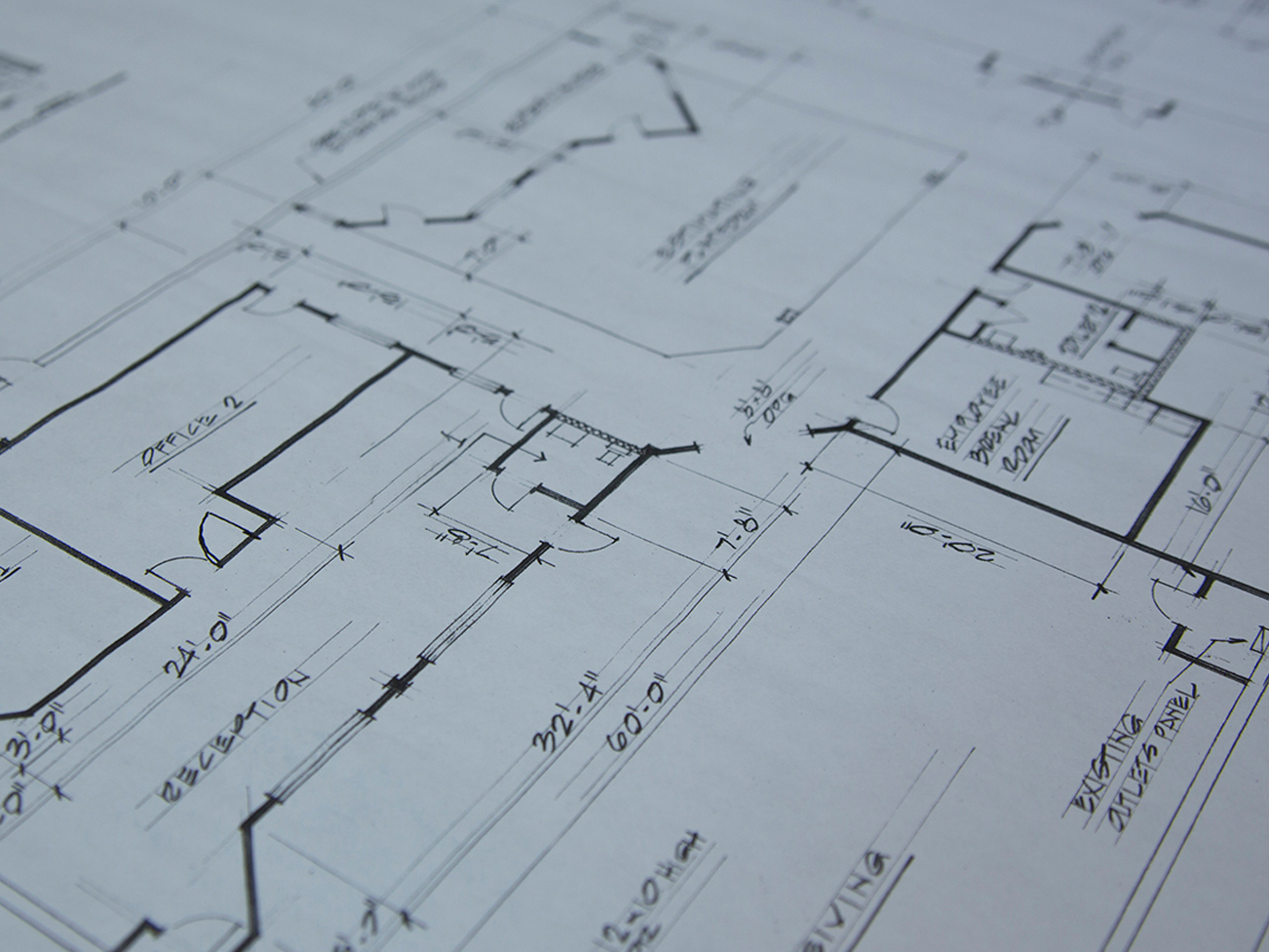 Blueprint for the new facility