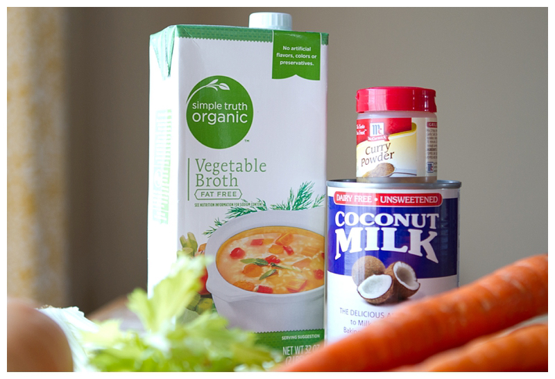 With just SIX ingredients, this soup is a NO brainer! All you need is Carrots, Onion, (celery for seasoning), Veggie Broth, Curry Powder and Coconut Milk. Wham, Bam, Thank You Ma'am!