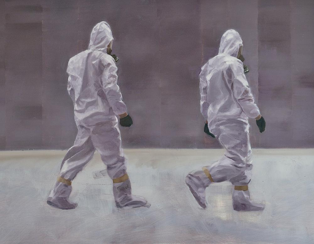 Untitled  - John Brennan,2012, oil on canvas, 70 x 90 x 4 cm