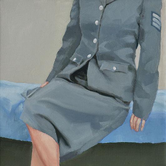 Myth VII: Nostalgia - John Brennan,2011, oil on canvas, 20 x 20 x 4 cm