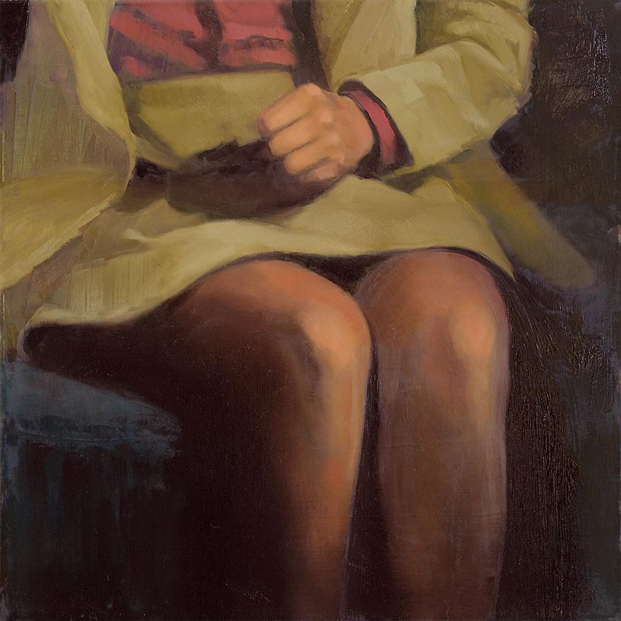 Munich - John Brennan, 2013, oil on canvas, 40 x 40 x 4 cm