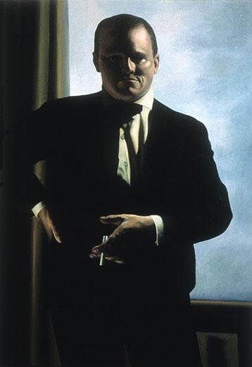 Self-Portrait As Max Beckmann