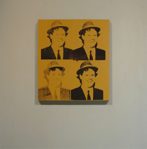 Four Portraits Of The Artist By Andy Warhol