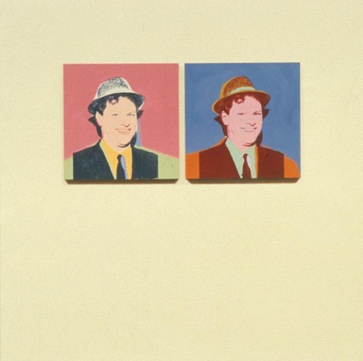 Two Portraits Of The Artist By Andy Warhol (#2)