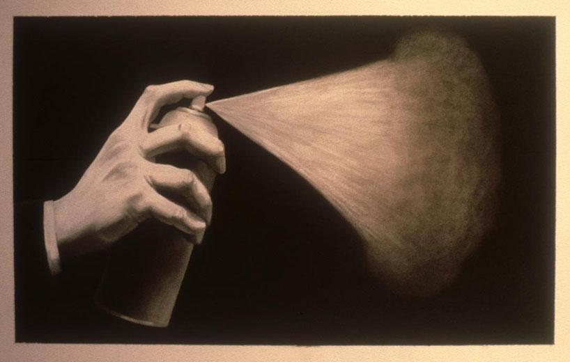 Hand, Spray Can and Spray