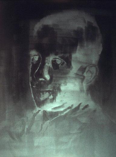 Black Portrait (negative)