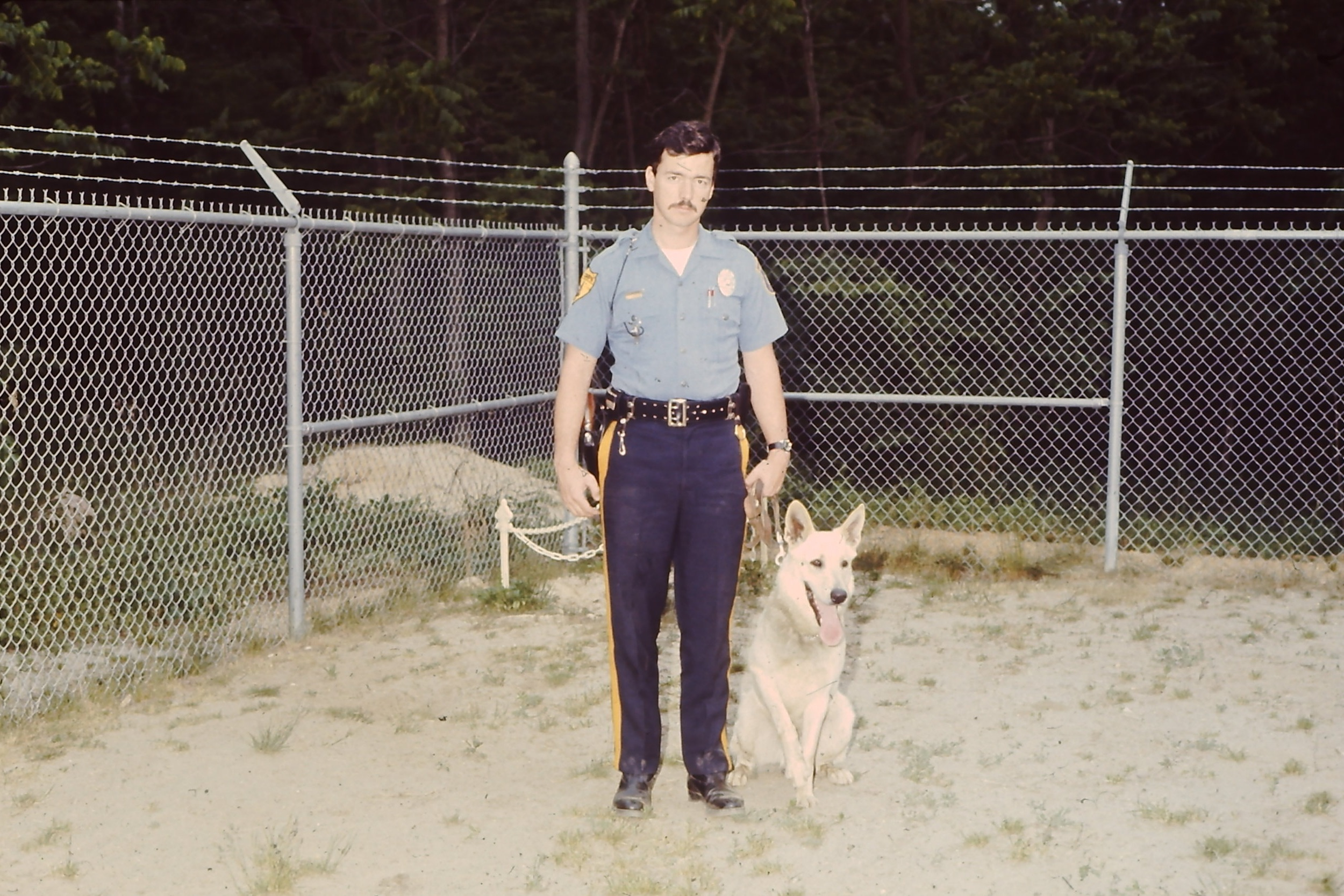 PO Richard Woodhull / K-9 Satan