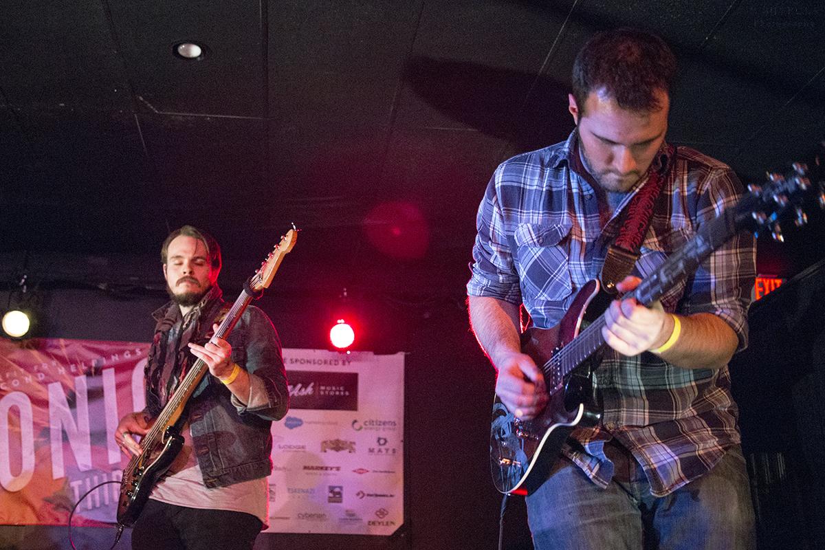 Sam Griswold (Bass) | Bill Eckhart (Lead Guitar)