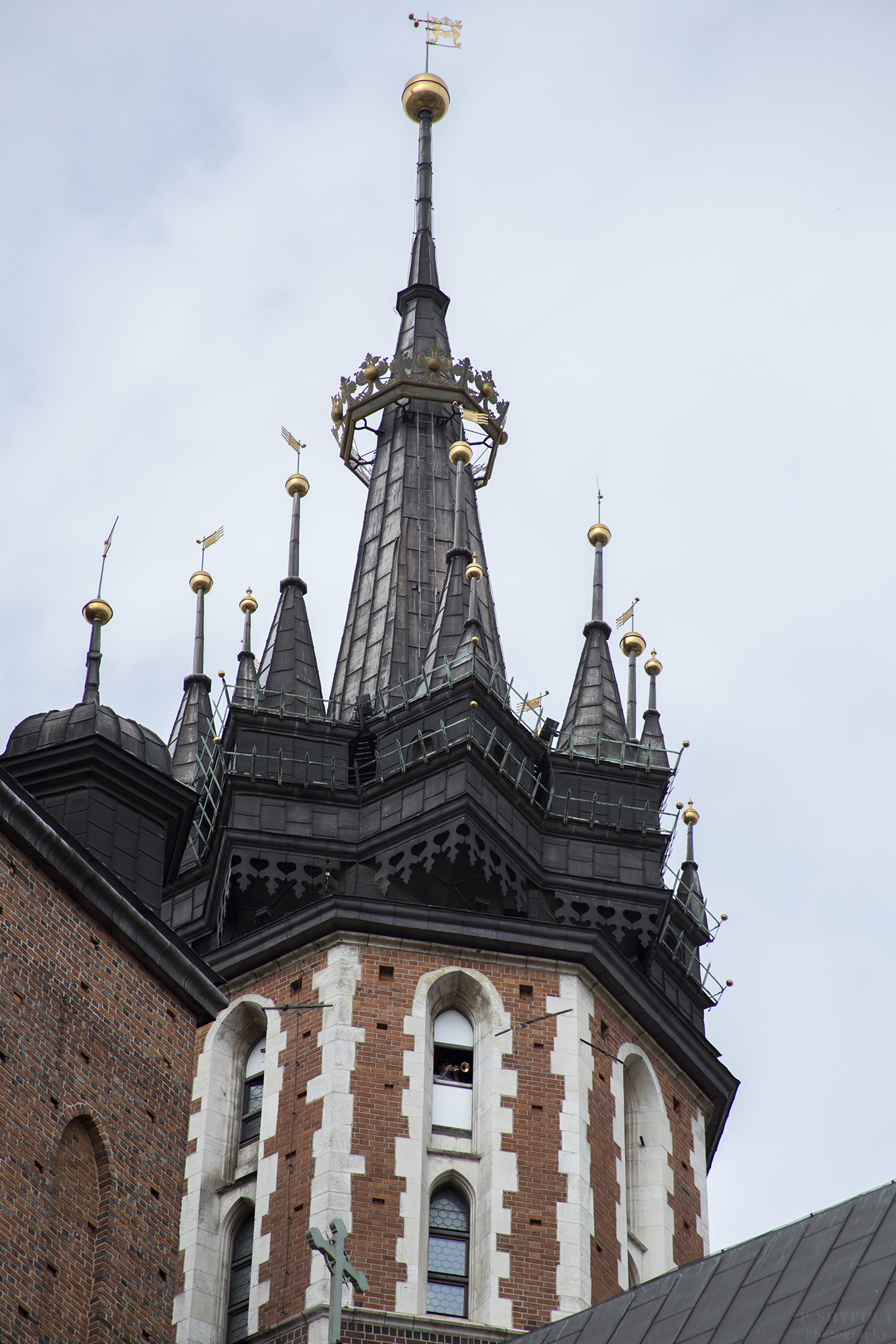 The hourly trumpet call at St. Mary's Basilica in Krakow
