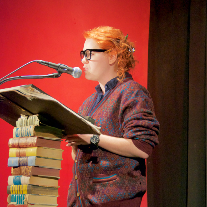 Hosting An Evening with the Authors at IndyFringe 2016 Credit:  IndyFringe