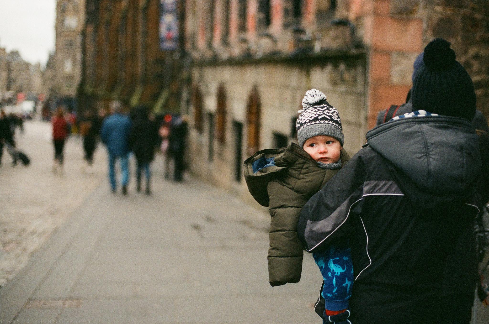 Edinburgh, Scotland Nikon FM2 + @Lomography F²/400