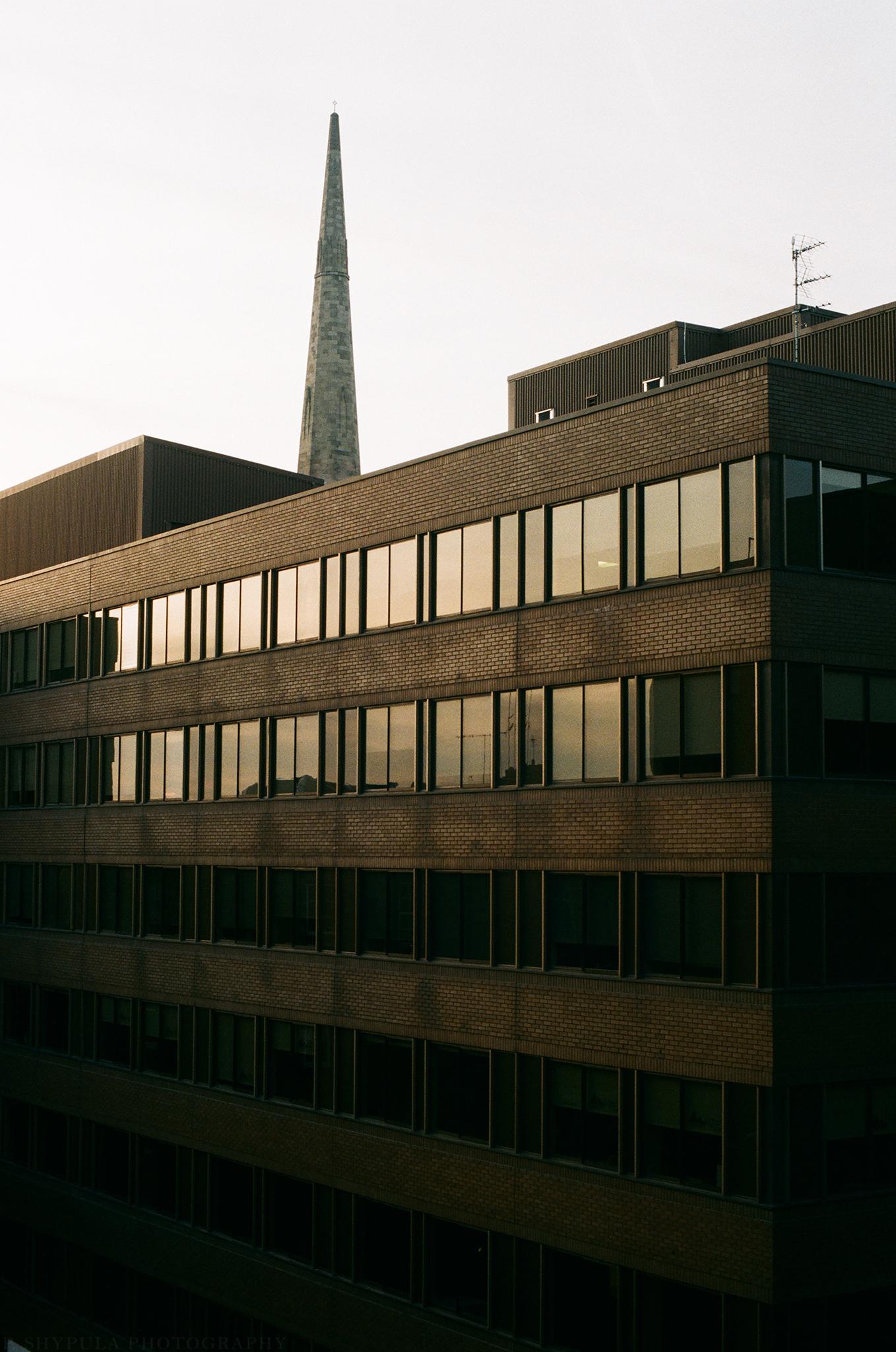 Glasgow, Scotland Nikon FM2 + Afga Vista 200