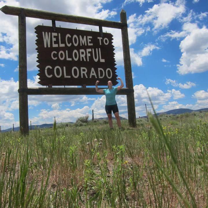 Colorado welcomes me!