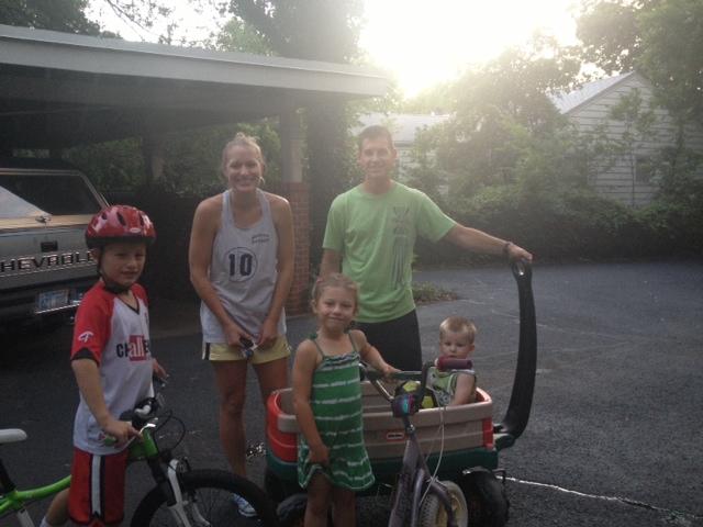 Pat and Pam's kids and grandkids!