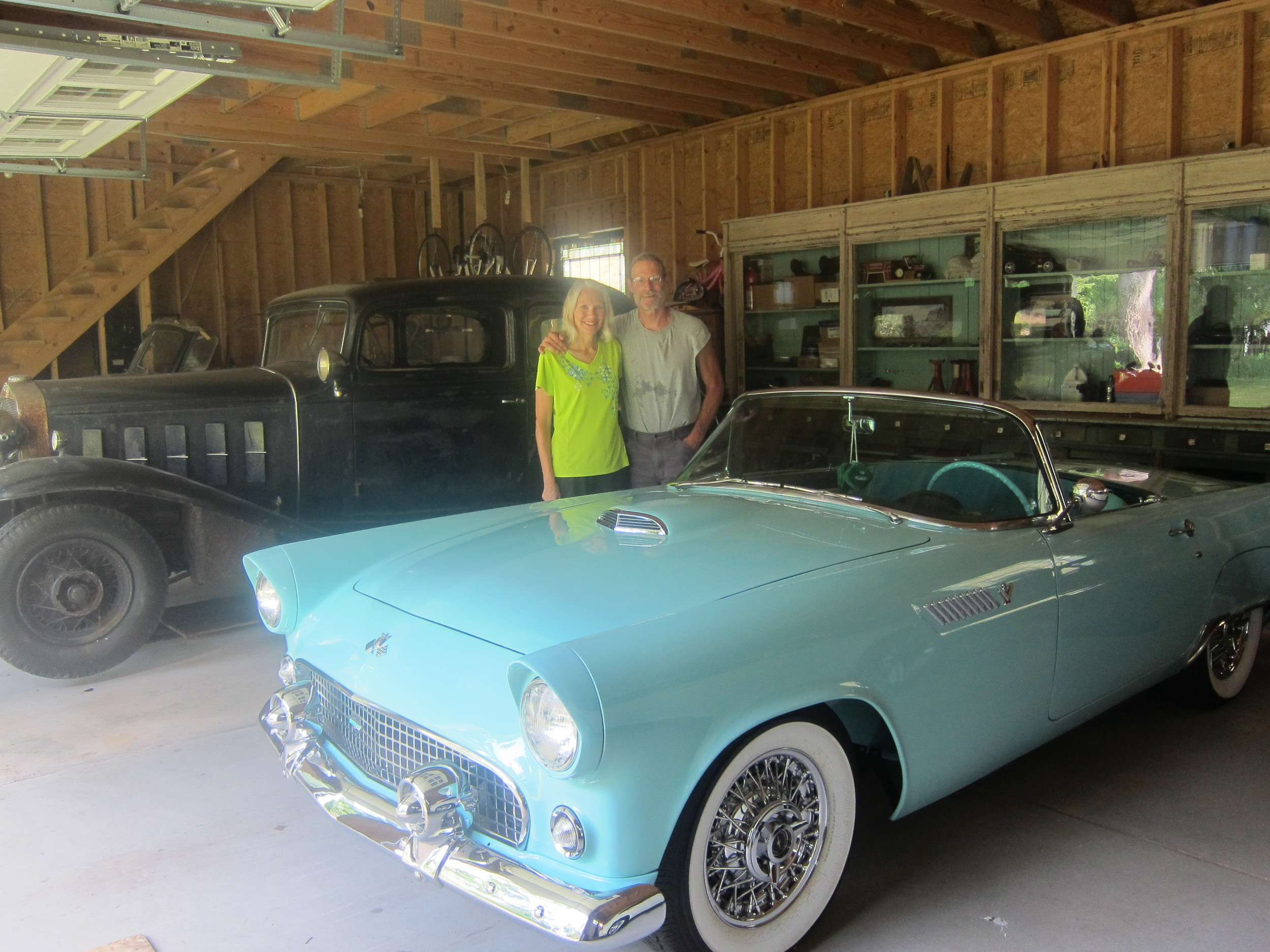 Pat and Pam! And their Thunderbird. (La Salle behind it)