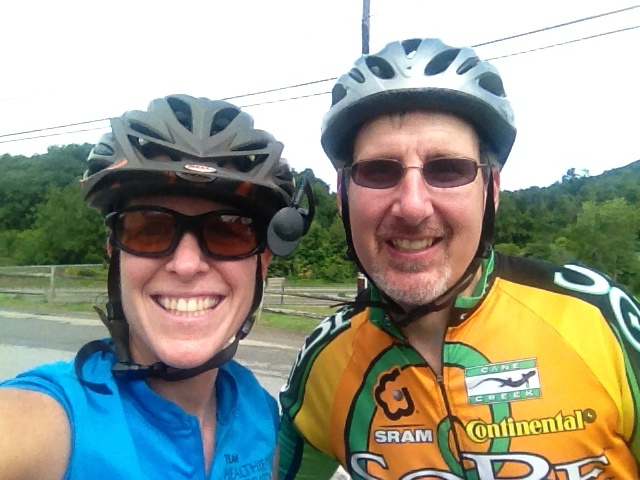 Tony- my Warm Showers host! Thanks for the bike rides!