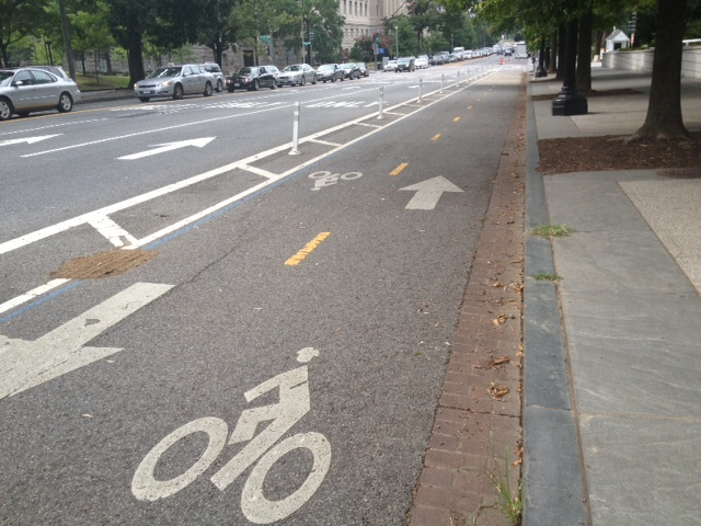 Bike lanes! DC