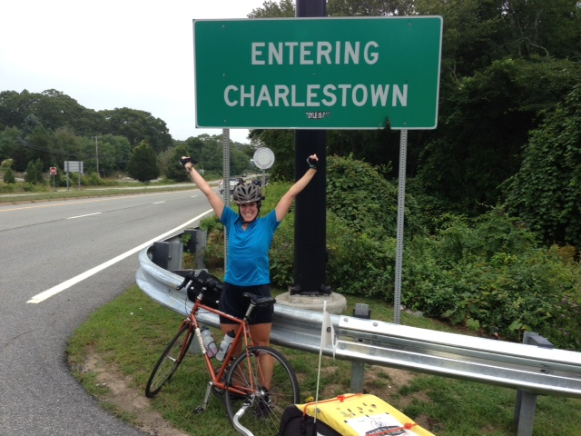 I made it! Charlestown Rhode Island!