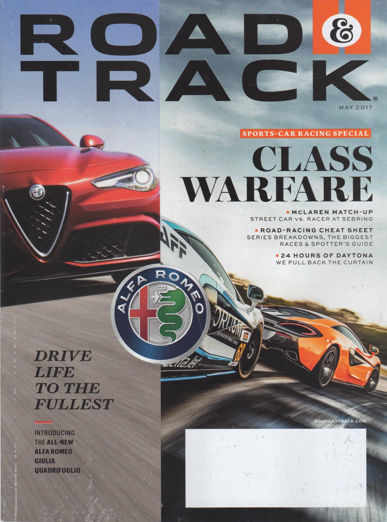 Road & Track May 2017 Issue