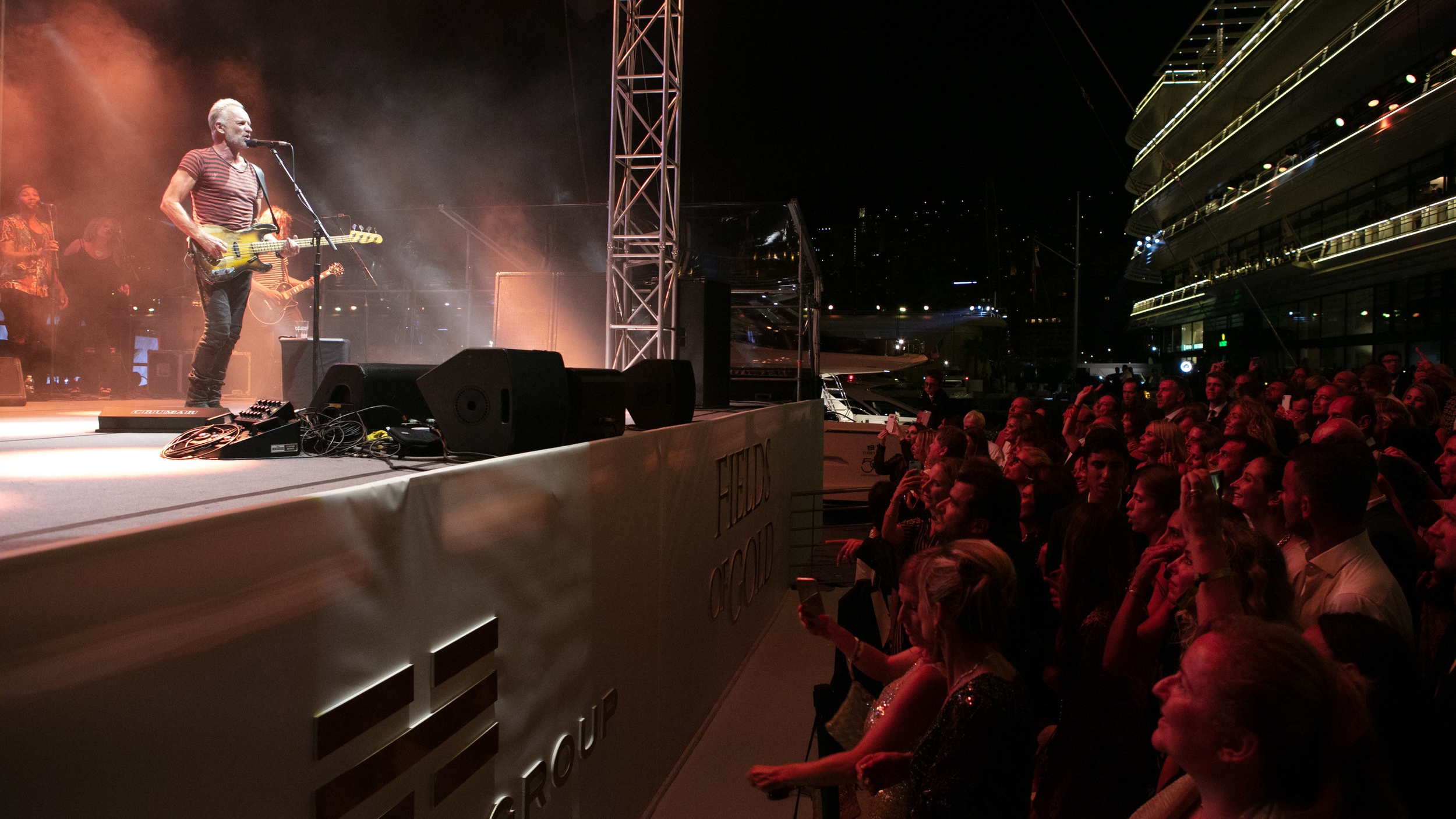 "Ferretti Group And Private ""Sting"" Concert"