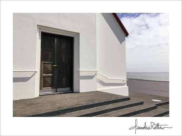 Door of the Reyniskirja church, Vik, Iceland