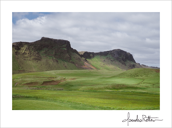 The mountains of Vik, Iceland