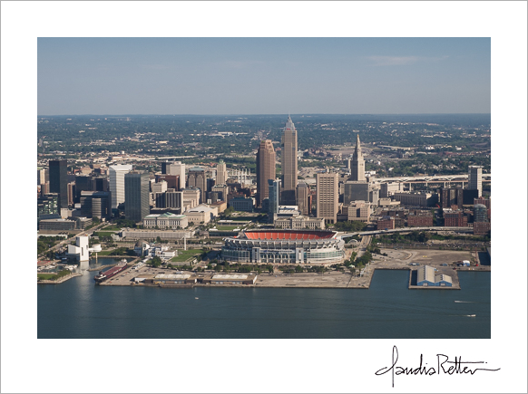 Cleveland from the air.