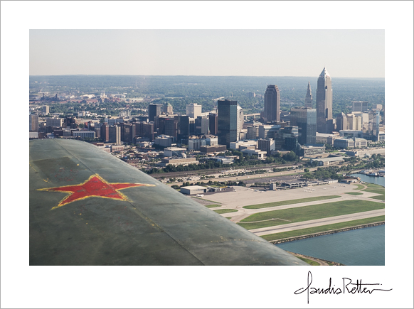 Cleveland aerial
